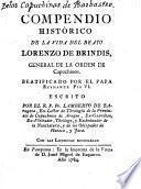 Compendio histórico de la vida del B. Lorenzo de Brindis