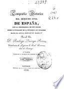 Compendio histórico del Derecho civil de España