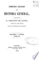 Compendio razonado de historia general