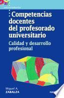 Competencias docentes del profesorado universitario