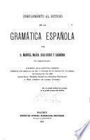 Complemento al estudio de la gramática española