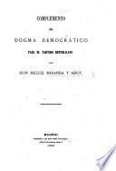 Complemento del Dogma Democrático para el partido republicano