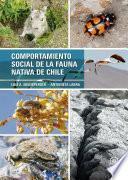 Comportamiento social de la fauna navida de Chile