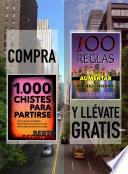 Compra 1000 CHISTES PARA PARTIRSE y llévate gratis 100 REGLAS PARA AUMENTAR TU PRODUCTIVIDAD
