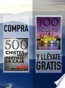 Compra 500 CHISTES PARA PARTIRSE LA CAJA y llévate gratis 100 REGLAS PARA AUMENTAR TU PRODUCTIVIDAD