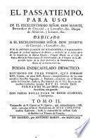 Compuesto de V. Cantos en V. Epocas, que comprehenden 1588. anos, contados desde el Nacimiento de Jesu Christo nuestro Redentor, hasta la exaltacion de la Real Casa de Borbon a el Throno de Francia