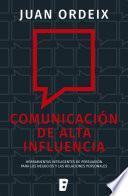 Comunicación de alta influencia