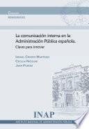 Comunicación interna en la Administración Pública española