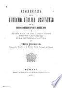 Concordancia del derecho público argentino con el derecho público norte americano y recopilación de las constituciones provinciales vigentes en la República Argentina