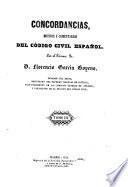 Concordancias del Código Civil Español