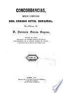 Concordancias, motivos y comentarios del codigo civil español