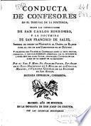 Conducta de confesores en el tribunal de la penitencia