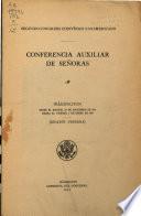 Conferencia auxiliar de señoras, Washington, desde el martes, 28 de diciembre de 1915 hasta el viernes, 7 de enero de 1916