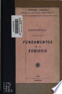 Conferencia sobre los fundamentos de la eubiosis