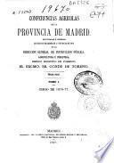 Conferencias agrícolas de la provincia de Madrid: Curso de 1876-77