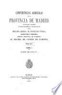 Conferencias agricolas de la provincia de Madrid