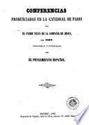 Conferencias pronunciadas en la catedral de Paris