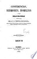 Conferencias, sermones, homilías y otras obras oratorias póstumas