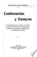 Conferencias y ensayos