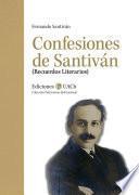 Confesiones de Santiván
