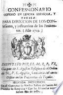 Confessionario copioso en lengua Española y Tagala