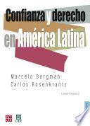 Confianza y derecho en América Latina