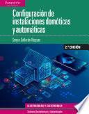 Configuración de instalaciones domóticas y automáticas 2.ª edición 2019