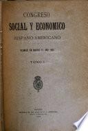 Congreso social y económico hispano-americano