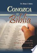 Conozca su Biblia