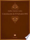 Constitución de El Salvador 1992