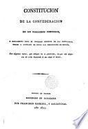 Constitución de la Confederación de los Caballeros Comuneros, y Reglamento para el gobierno interior de las Fortalezas, Torres y Castillos de todas las Merindades de España