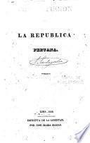 Constitución para la República Peruana