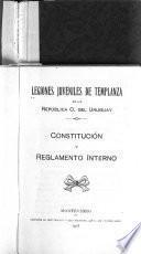 Constitución y reglamento interno