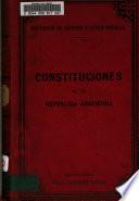 Constituciones de la República Argentina