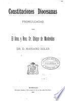 Constituciones diocesanas
