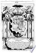 Constituciones sinodales del Smo. ... don Fernando, Cardenal Infante, administrador perpetuo del Arcobispado de Toledo ...