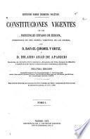 Constituciones vigentes de los principales estados de Europa