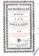 Constitvciones synodales del obispado de Malaga