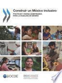 Construir un México inclusivo políticas y Buena Gobernanza para la Igualdad de Género