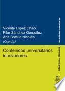 Contenidos universitarios innovadores