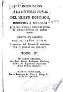 Continuacion á la historia moral del nuevo Robinson