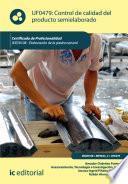 Control de calidad del producto semielaborado. IEXD0409