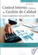 Control interno y sistema de gestión de calidad