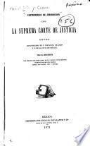 Controversia de jurisdiccion ante la Suprema corte de justicia entre los juzgados de 1a. instancia de Apan y 20. de lo civil de México