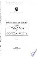 Controversia de límites entre Panamá y Costa Rica