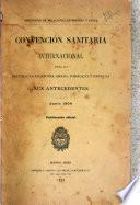 Convención sanitaria internacional entre las repúblicas Argentina, Brasil, Paraguay y Uruguay