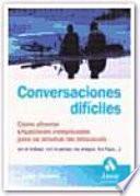 CONVERSACIONES DIFÍCILES