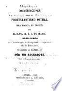 Conversaciones sobre el protestantismo actual