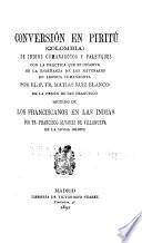 Conversión en Piritú (Colombia) de Indios Cumanagotos y Palenques