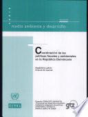 Coordinación de las políticas fiscales y ambientales en la República Dominicana